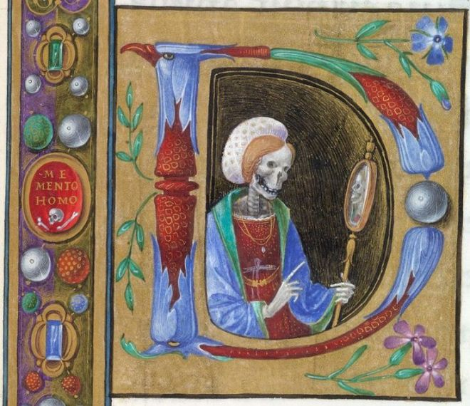 book of hours death 1480
