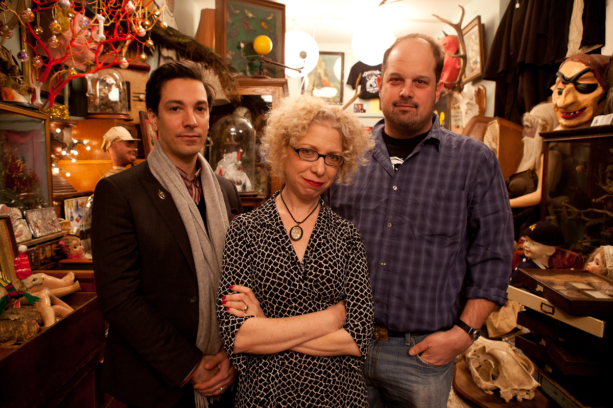 Owners of Obscura Antiques