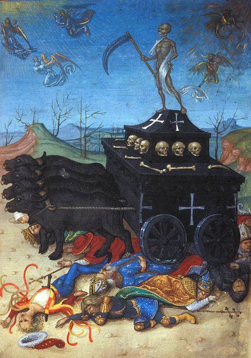 triumph of death 16th C Germany