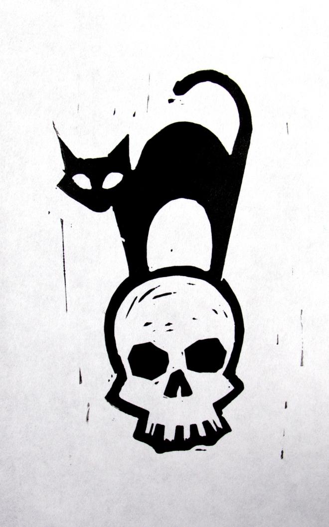 HalloweenCatSkull