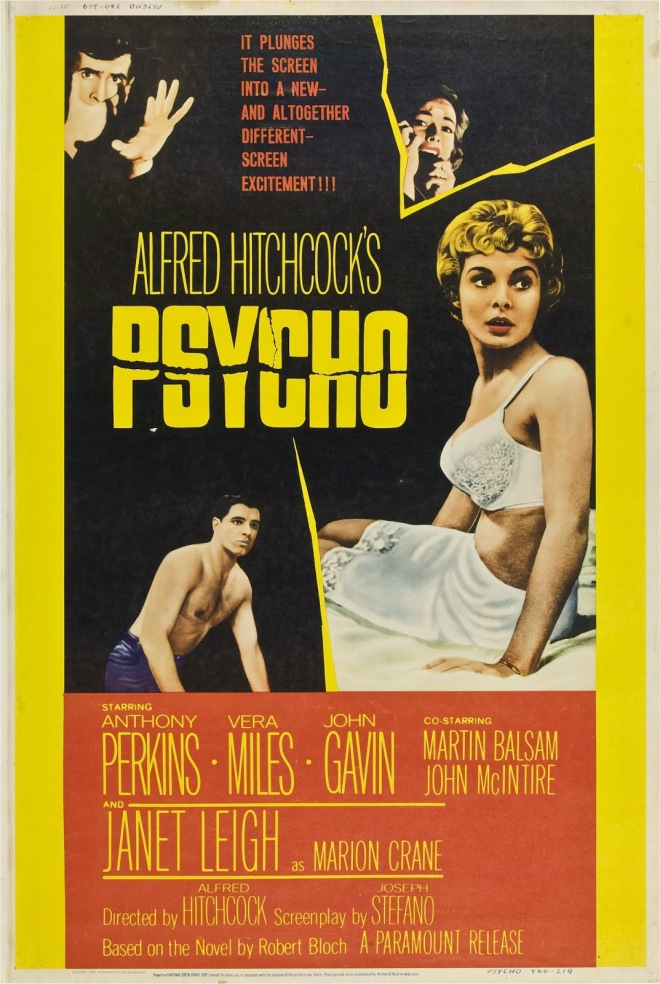 PSYCHO - American Poster 6